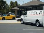Tesla's Mobile Service Ranger vehicle
