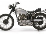 "The 1949 Triumph Trophy TR5 used in filming ""Happy Days.""  Image: Bonhams Auctions"