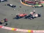 The 2012 F1 season saw a few heavy crashes.