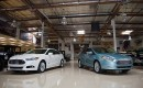 The 2012 Ford Focus Electric and 2013 Fusion Energi on Jay Leno's Garage