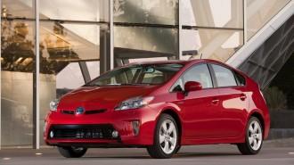 The 2012 Toyota Prius. Image: Toyota