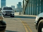 The 2013 Mercedes-Benz GL Class helps the cops catch a bad guy