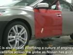 The 2013 Nissan Altima, sans disguise.