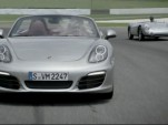 The 2013 Porsche Boxster shows us the family