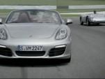 The 2013 Porsche Boxster shows us the family