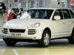 The 250,000th Porsche Cayenne