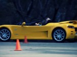 The Arcspeed electric roadster