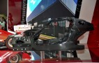Ferrari Enzo Successor (F70) Carbon Tub On Display In Paris: Video