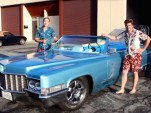 The Carpool DeVille with its creators