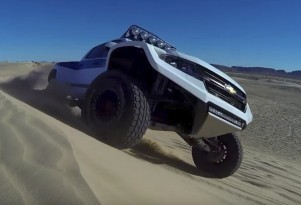The Chevrolet Colorado pre-runner build is no-holds barred