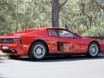 The Ferrari Teatarossa once owned by Elton John - image courtesy of Carsales.com