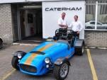 The final Caterham R500 Superlight