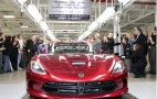2013 SRT Viper #001 Rolls Off Conner Avenue Assembly Line: Video