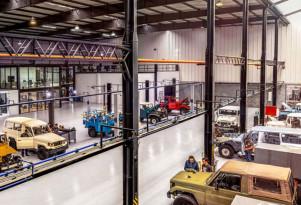 The FJ Company's Toyota Land Cruiser restoration service