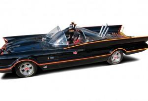 The George Barris-designed Batmobile - image: Barrett-Jackson