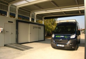 Electric-Car Battery Swapping, Slovakian Style (Well, Vans, Anyway)
