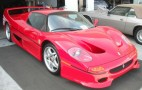 FBI-Crashed Ferrari F50 For Sale On Ebay