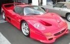 FBI-Crashed Ferrari F50 For Sale On Ebay