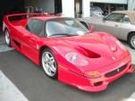 The infamous FBI-crashed Ferrari F50
