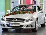 The last R230-series Mercedes-Benz SL-Class, number 169,434