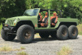 The LS3-powered Bruiser Jeep Wrangler 6x6
