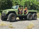 The LS3-powered Bruiser Jeep Wrangler 6x6