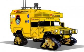 Mars Researchers Hope Humvee Will Get 35 Million Miles Per Tank