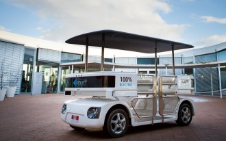 Navia, The World's First Autonomous Car, Is Now On Sale (Video)