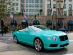 The Tiffany-inspired Bentley Continental GTC V8 - image: O'Gara Coach Company