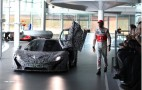 McLaren P1 Supercar Gets Cameo During MP4-28 Reveal: Video