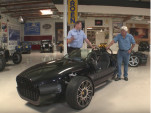 The Vanderhall Venice rolls into Jay Leno's Garage