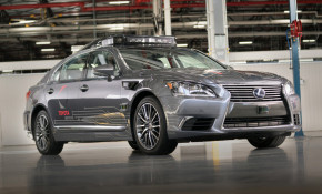 Third-generation Toyota self-driving car prototype