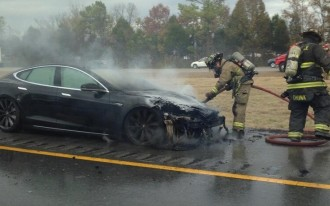 NHTSA Launches Formal Investigation Of Tesla Model S Fires
