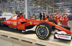 It took 350,000 Lego bricks to make this F1 Ferrari race car