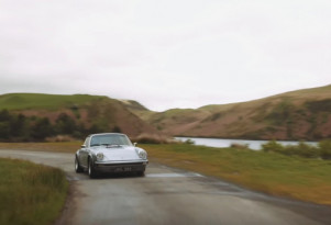 This is a fully electric Porsche 911