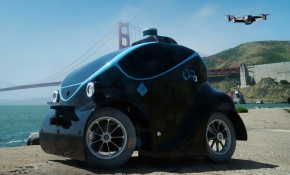 This is the O-R3 autonomous police vehicle