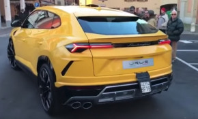 This is what the Lamborghini Urus sounds like