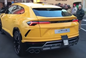 Here's a taste of the Lamborghini Urus' exhaust note
