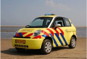 Dutch Island of Terschelling Gets Th!nk City First Aid Vehicle
