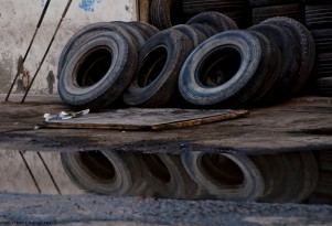 Tires, by Flickr user Jayme del Rosario (Used under CC License)