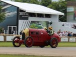 1911 Fiat S76, aka The Beast of Turin, at 2016 Goodwood Festival of Speed