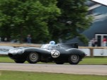 1956 Jaguar D-Type 'Long Nose' endurance racer at 2016 Goodwood Festival of Speed