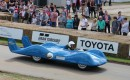 1956 Renault Etroile Filante turbine Land Speed Record contender at 2016 Goodwood Festival of Speed