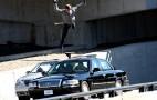 Tom Cruise Crushes Mercury Grand Marquis