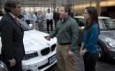 Tom & Meredith Moloughney get keys to first BMW ActiveE electric car delivered in U.S., Jan 2012