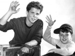 Tony Dow & Jerry Mathers in 'Leave It To Beaver'