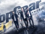 """Top Gear America"" presenters William Fichtner, Tom Ford, and Antron Brown"