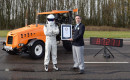 """Top Gear"" and The Stig break Guinness World Record for fastest tractor"