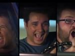 "Top Gear USA hosts mug during ""Donut"" trailer"