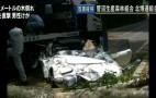 Tree Crushes Million-Dollar Toyota 2000 GT